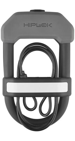 Hiplok DXC - Candado de cable - gris/negro